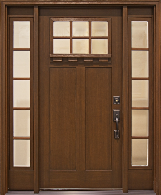 Mission Style Entry Doors Central NJ Clopay Craftsman Collection