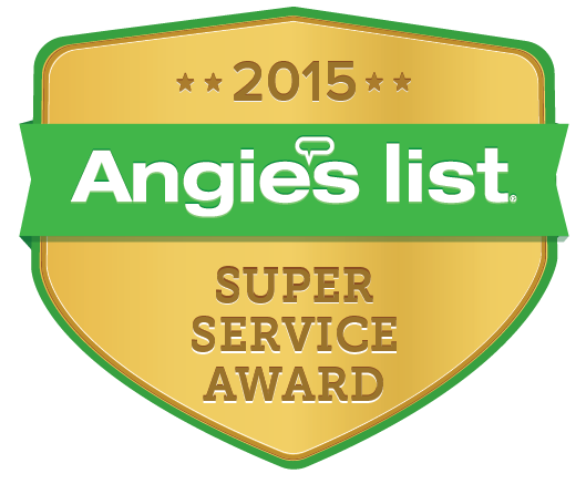 Bridgewater Overhead Doors earned the 2015 Angie's List Super Service Award