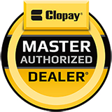 Bridgewater Overhead Door is proud to be a Clopay Master Authorized Dealer